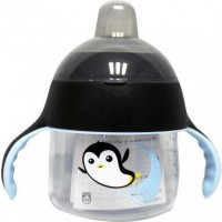 Avent Tuitbeker pinguin 6 maand+ zwart