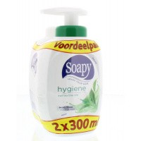 Soapy Handzeep hygiene duo pomp met navul