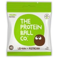 Protein Ball Co Lemon & pistachio vegan protein