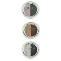 Neobio Eyeshadow duo 02 brown champagne