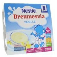 Nestle Dreumesvla vanille 8 maanden 100 gram