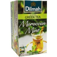 Dilmah All natural green tea Moroccan mint