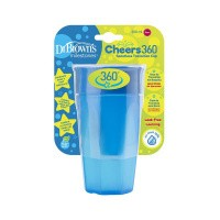 DR Brown's Cheers 360 cup blauw 300 ml