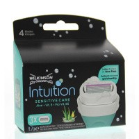 Wilkinson Intuition naturals sensitive care mesjes