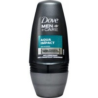 Dove Deodorant roll on men aqua impact
