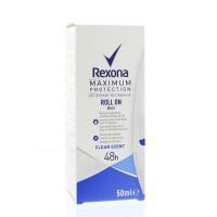 Rexona Deodorant roller clean scent