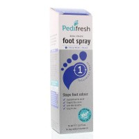 Pedifresh Fase 1 tegen acute zweetvoeten spray