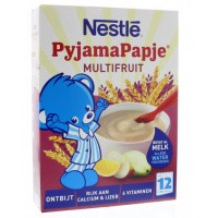 Nestle Pyjamapapje multifruit