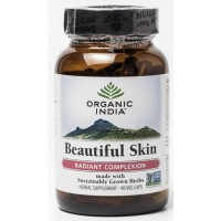 Organic India Beautiful skin caps