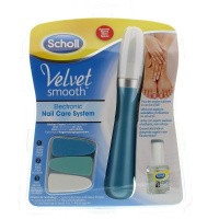 Scholl Velvet smooth electronic nail care
