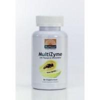 Mattisson MultiZyme met papaya en bromelaïne
