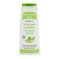 Alphanova Baby Baby organic cleansing lotion