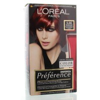 Loreal Feria preference 4.66 pure ruby power