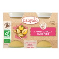 Babybio Dessert appel peel 130 gram