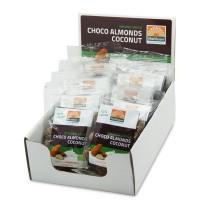 Mattisson Amandelen snack pure chocolade & cocos 35 gram
