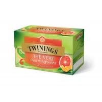 Twinings Groene thee citrusduo pompelmoes mandarijn