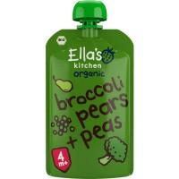 Ella's Kitchen Broccoli pears and peas 4+ maanden
