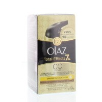 Olaz Total effects CC cream medium tot donker