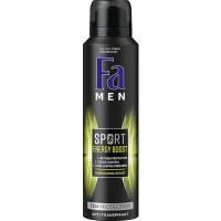 FA Men deodorant spray double power boost mini