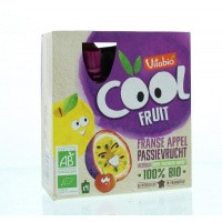 Vitabio Coolfruit appel passievrucht 90 gram