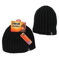 Heat Holders Mens hat one size black
