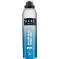 Vogue Men nordic blue shower foam