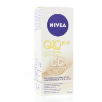 Nivea Visage gekleurde dagcreme Q10