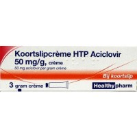 Healthypharm Koortslip creme aciclovir