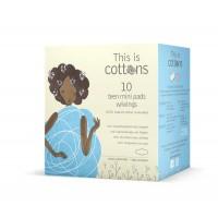 Cottons Tiener maandverband mini