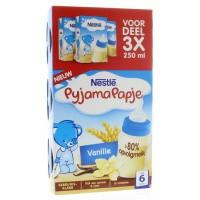 Nestle Pyjamapapje vanille 250 gram