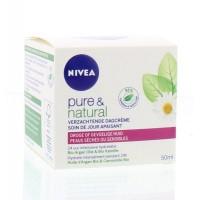 Nivea Pure & natural dagcreme droge huid