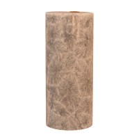 Kerzenfarm Kaars stomp grijs 135 x 64 stearine geurloos