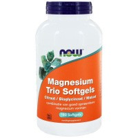 NOW Magnesium trio softgels