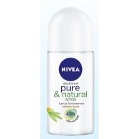 Nivea Deodorant pure & natural jasmine roller