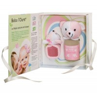 Alphanova Baby Baby giftset bobo pink