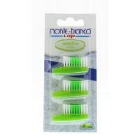 Monte Bianco Tandenborstelkop navul sensitive groen nylon