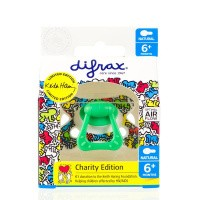 Difrax Fopspeen natural 6-12 maanden Keith Haring