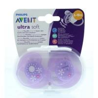 Avent Speen soft 6-18 maanden girl