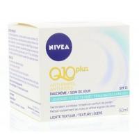 Nivea Q10Plus dagcreme lichte textuur gemengd/vet huid