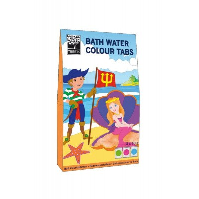 Treets Bath water colour tabs