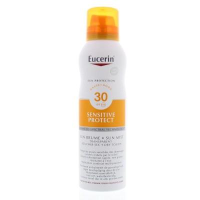 Eucerin Sun transparant dry touch SPF 30