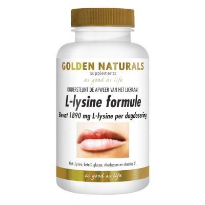 Golden Naturals Lipblaasjes l-lysine