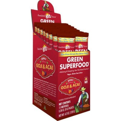 Amazing Grass Berry goji acai green superfood
