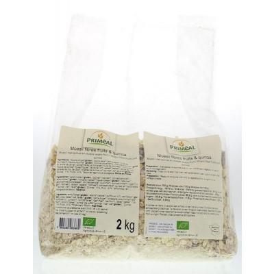 Primeal Muesli vezels fruit quinoa