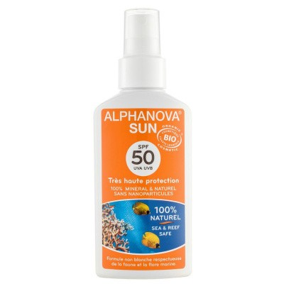 Alphanova Sun Sun spray SPF50 bio