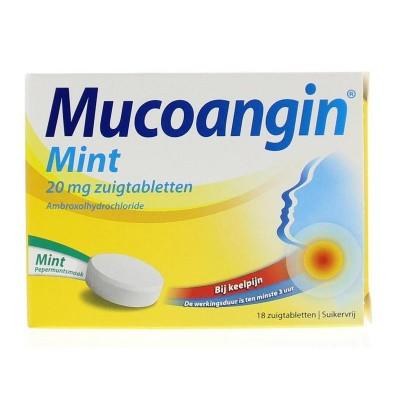 Mint suikervrij 20 mg