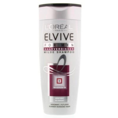 Loreal Elvive shampoo haarverdikker for men