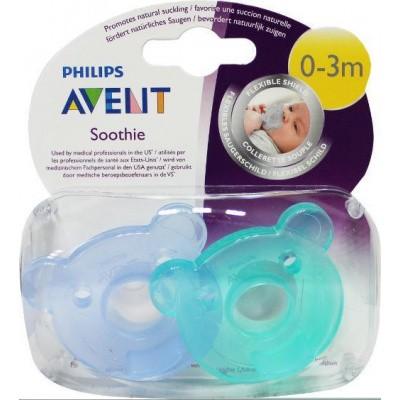 Avent Soothie fopspeen 0-3 maanden SCF194/00 assorti