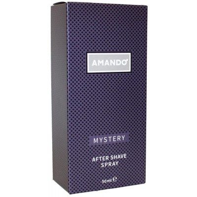 Amando Mystery aftershave spray