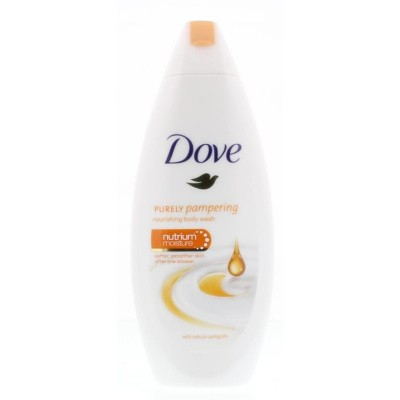 Dove Shower cream purely pampering natrium moisture